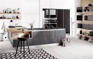 Küche In Betonoptik : h cker k chen pr sentiert neue fronten in betonoptik ~ Michelbontemps.com Haus und Dekorationen