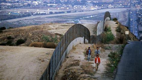 mur entre les etats unis  le mexique le probleme de la construction