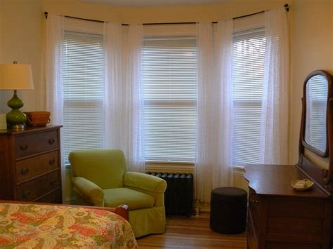Curtain Amazing Bow Window Curtain Rods Bow Window