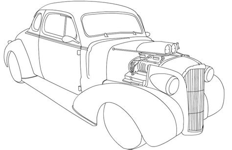 Kleurplaat Hotrod by Rod Coloring Pages Coloring Home
