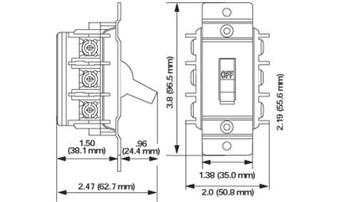 Leviton Amp Double Pole Single Phase