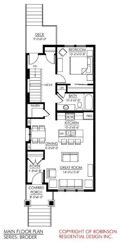 the layout i want like a shotgun house room for dining