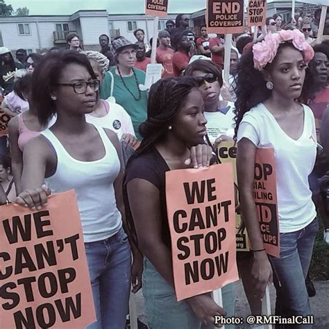 Protest rally draws 10,000 people in Ferguson; civil ...