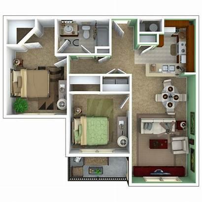 Apartments Senior Floor Bedroom Plans Apartment Plan