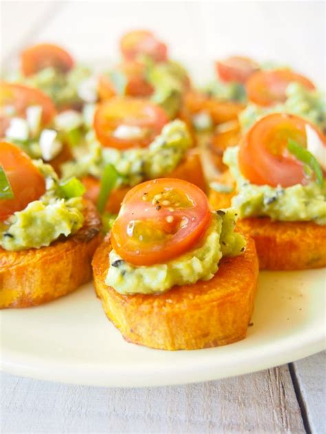 canape ideas nigella potato toppers easy recipe