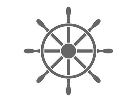 Ship Wheel Set Free Vectors