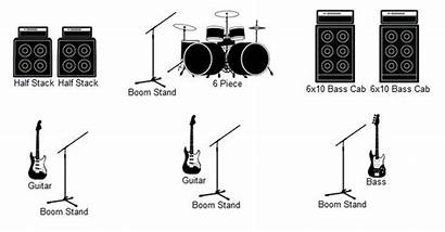 Stage Plot Icon Tools Using Vectorified