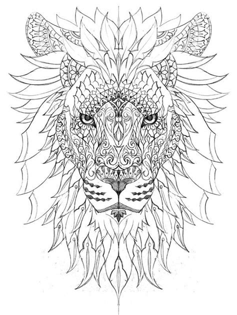Pin by Светлана 1972 on For sweet home) | Lion coloring pages, Mandala coloring pages, Mandala