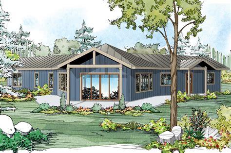 ranch house plans alder creek    designs