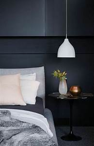 Table De Chevet Ronde : 1001 id es pour une lampe de chevet suspendue dans la chambre coucher ~ Teatrodelosmanantiales.com Idées de Décoration