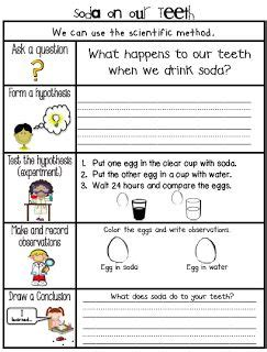 sarah s first grade snippets dental health experiments a