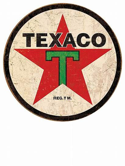 Signs Tin Texaco Retro Sign Oil Gas