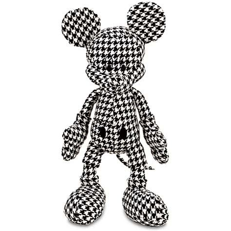 disney plush mickey mouse houndstooth