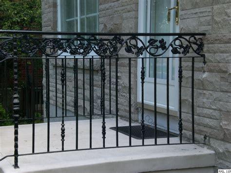 rod iron railing paint wrought iron railing decoration diy wrought iron railings