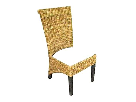 detail product butona dining chair indonesia rattan