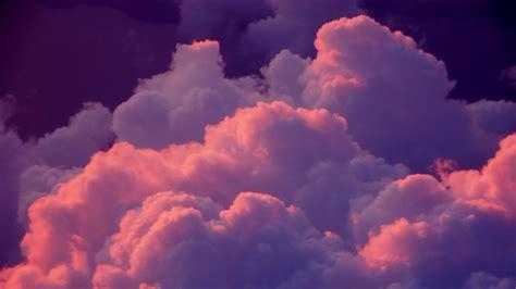 1366x768 Pink Clouds desktop PC and Mac wallpaper