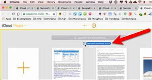 How to convert apple pages to microsoft word vice versa for Word documents in icloud