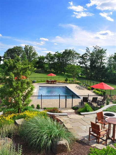 pool fence landscaping ideas pool fence and landscaping pools pinterest