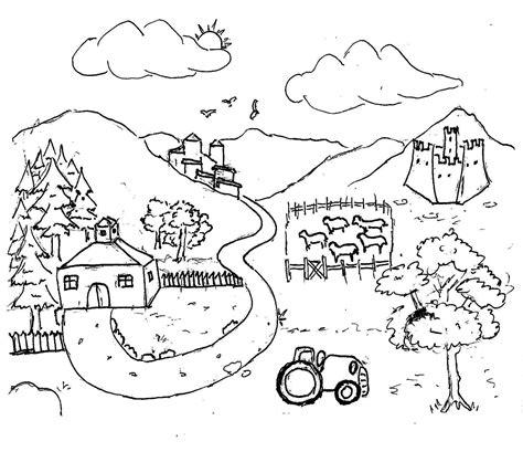 trattorie co dei fiori disegni da colorare bambini i fattoria
