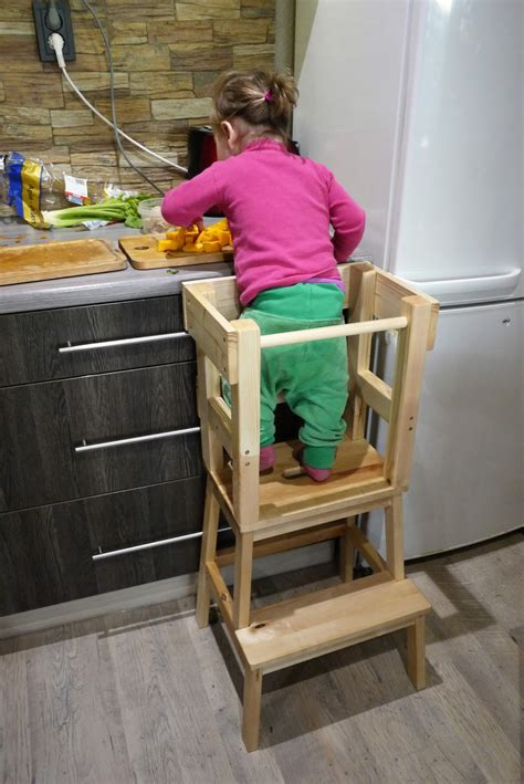 comment monter une cuisine la tour d observation montessori tuto inside parentage fr