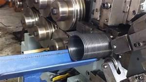 Plc Control Shutter Spring Making Machine