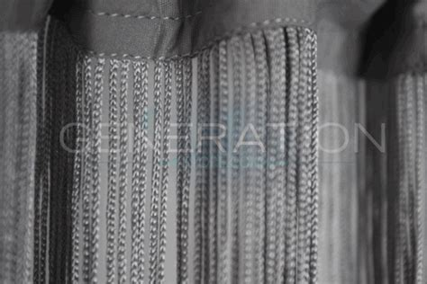 Silver String Or Fringe Curtain Extra Super Long Feet