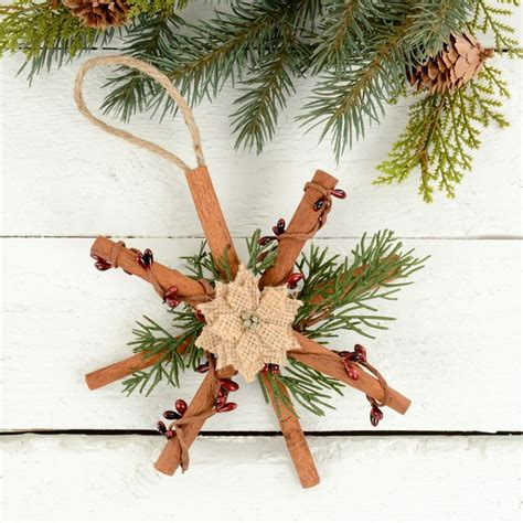 rustic christmas ornaments natural tree