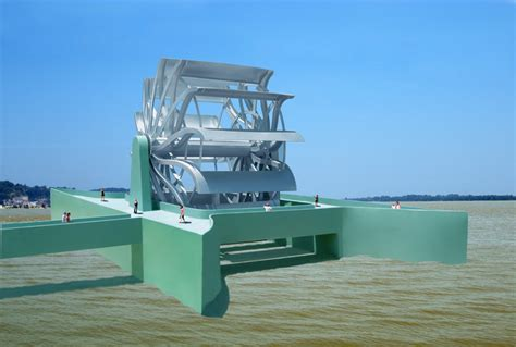 great river turbine is a hydroelectric energy