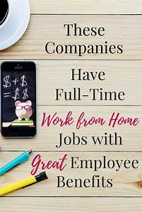 Full-Time Work ... Work From Home Jobs