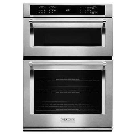 kitchenaid  stainless combination oven koceess