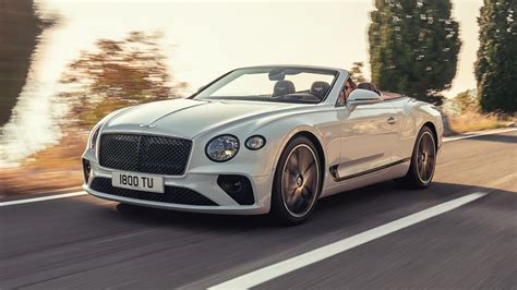 The New Bentley Continental Gt Convertible Is A 626hp Droptop