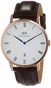 Dw Uhren Herren : daniel wellington herren armbanduhr analog quarz leder dw00100085 ~ Orissabook.com Haus und Dekorationen