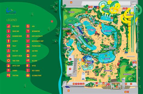 map waterbom jakarta
