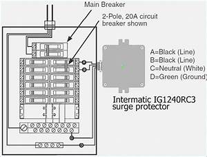 whole house surge protector wiring diagram With wiring for house