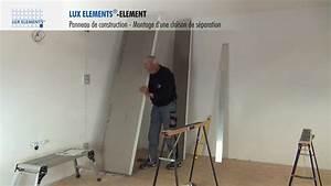 lux elements montage element panneau element comme With panneau de separation interieur
