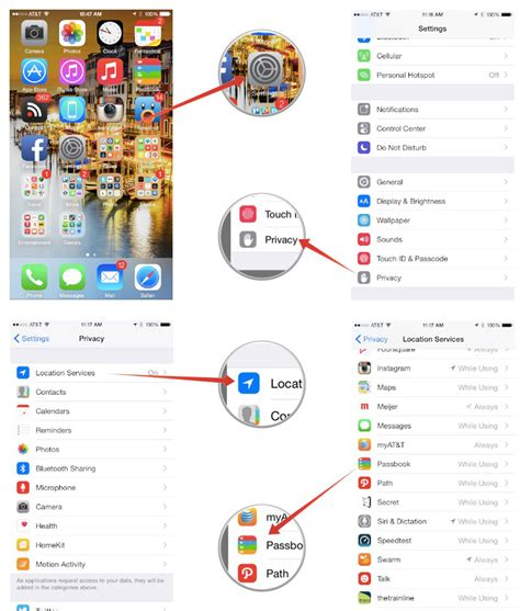 location services iphone 6 how to disable location services for passbook on your