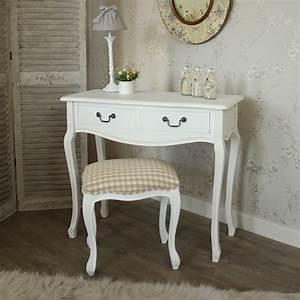 Schlafzimmer Französischer Stil : wei holz franz sischer stil schminktisch und gepolstert stuhl heim schlafzimmer ebay ~ Sanjose-hotels-ca.com Haus und Dekorationen
