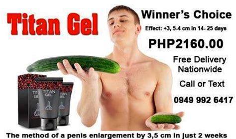 titan gel cebu city store location for sale used philippines