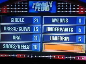 famous family feud blank board