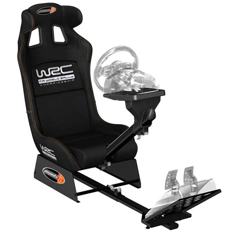siege volant playseats wrc siège simulation automobile noir base noir