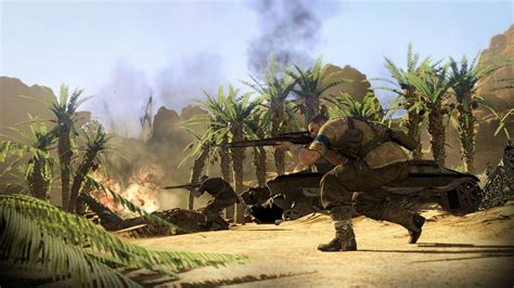 sniper elite iii ps playstation  game profile news