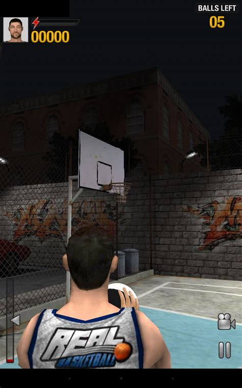 real basketball games  android