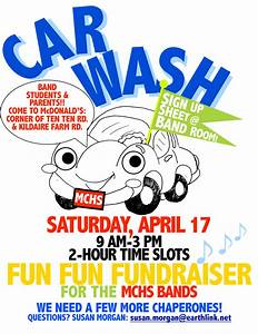 car wash fundraiser flyer soccer car wash flyer high With car wash poster template free