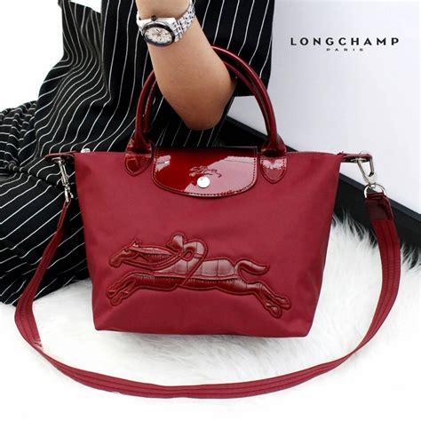 tas branded wanita authentic longch le pliage neo victoire small original with