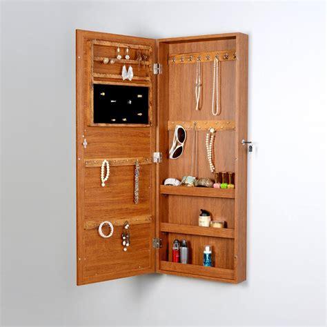 hanging jewelry armoire 25 beautiful oak wood jewelry armoires zen merchandiser