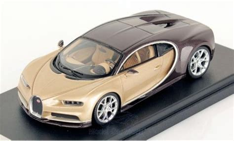 Bugatti claims that the chiron makes the dash from zero to 60 mph in a mere 2.3 seconds, and it has a top speed of 261 mph. Modellino in miniatura Bugatti Chiron 1/43 Look Smart ...