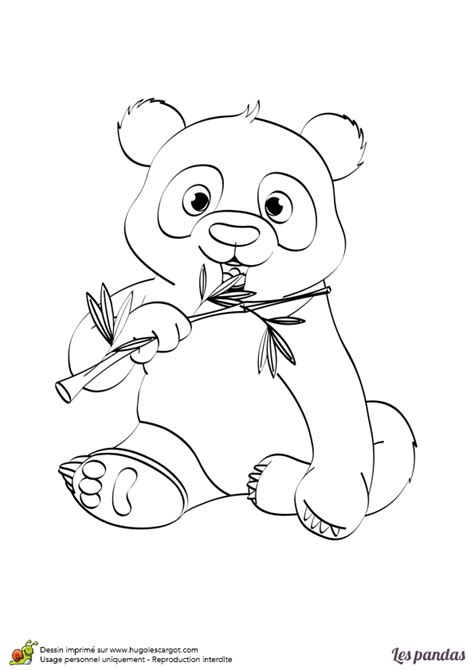 jeu de cuisine en ligne gratuit dessin à imprimer et à colorier d un panda avec un bambou