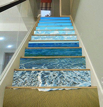 Removable Stair Riser Vinyl Decal by Stair Riser Decals Diy Removable Vinyl Murals For Steps