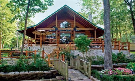 waterfront log homes log cabin home lakefront lakefront cabin plans treesranchcom