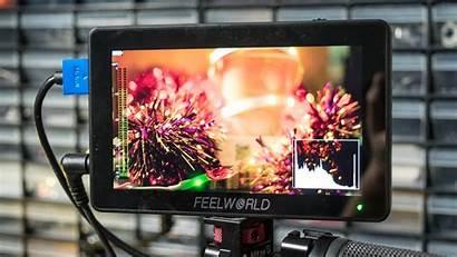 Feelworld F6 Monitor Camera Touchscreen Luts Interface